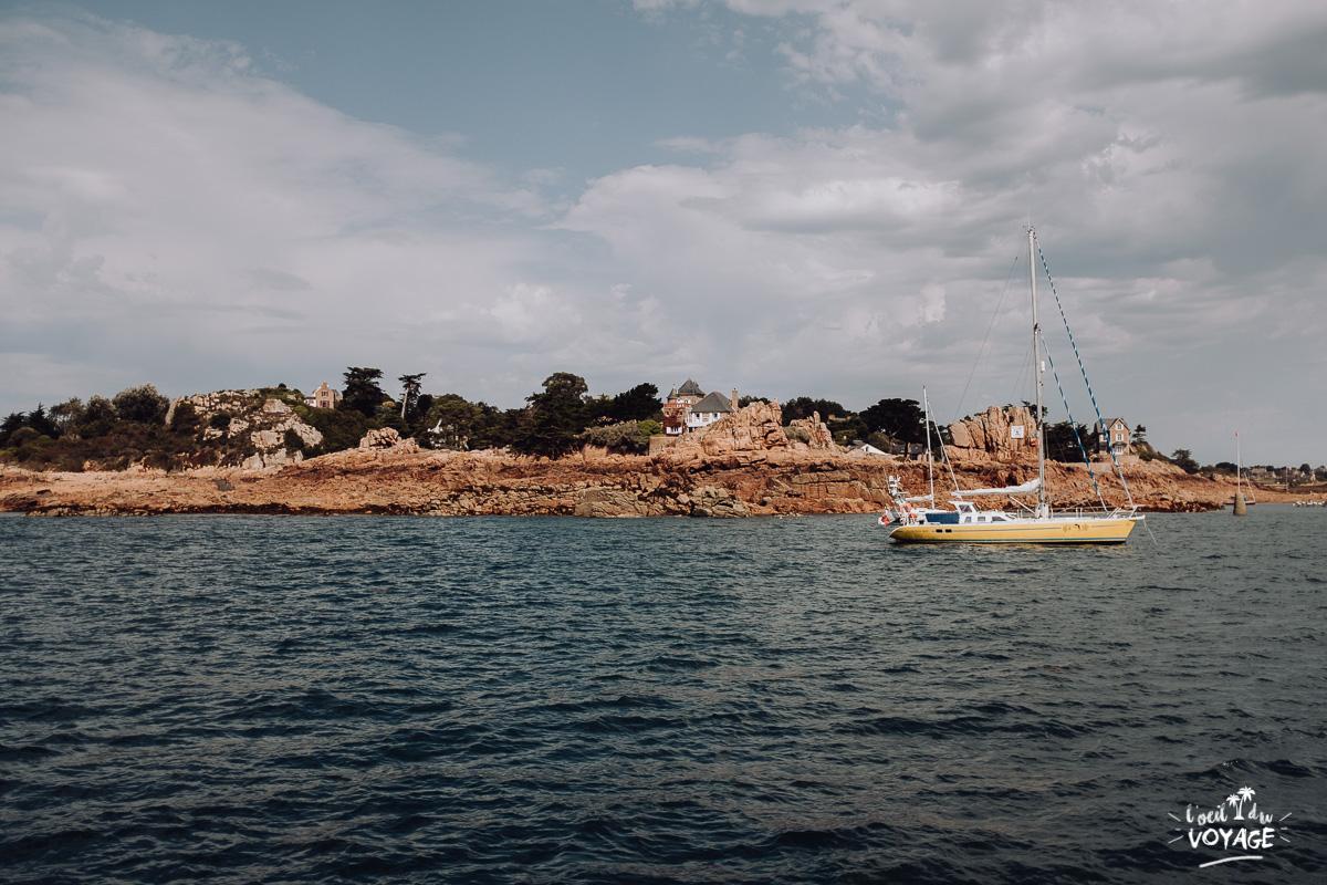 bretagne tourisme, traversée île de bréhat, meilleur blog voyage, ile de brehat