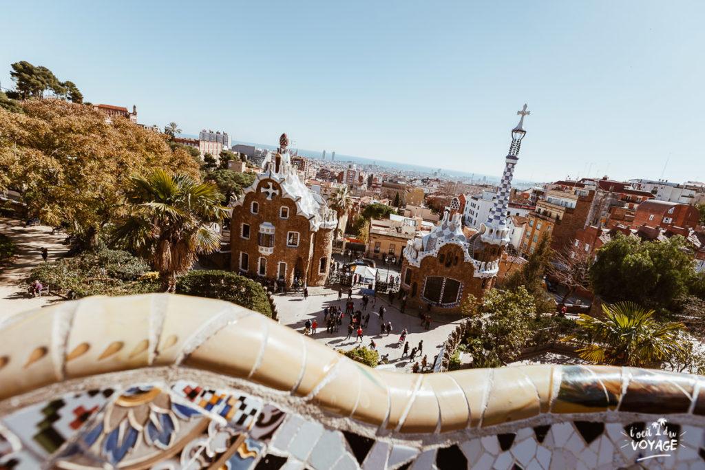 bon plan voyage, sejour barcelone, visite park güell, plage barcelone, blog voyage