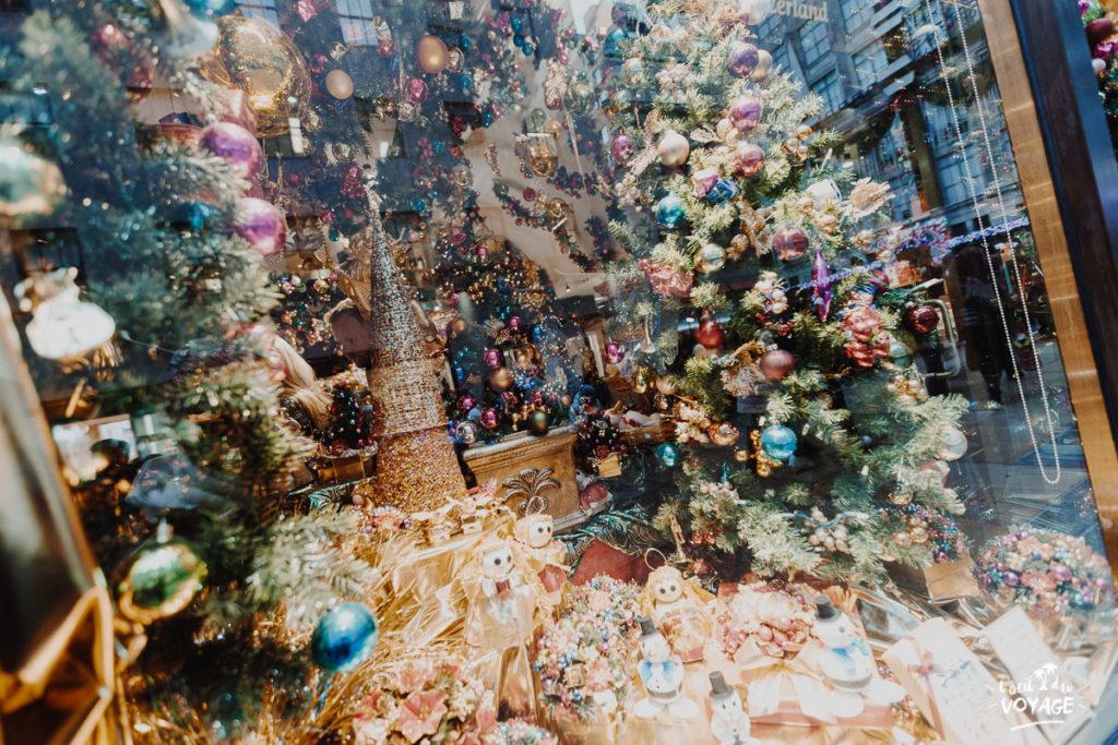visiter new york à Noël, Rockfeller Center sous la neige, Blog L'oeil du Voyage
