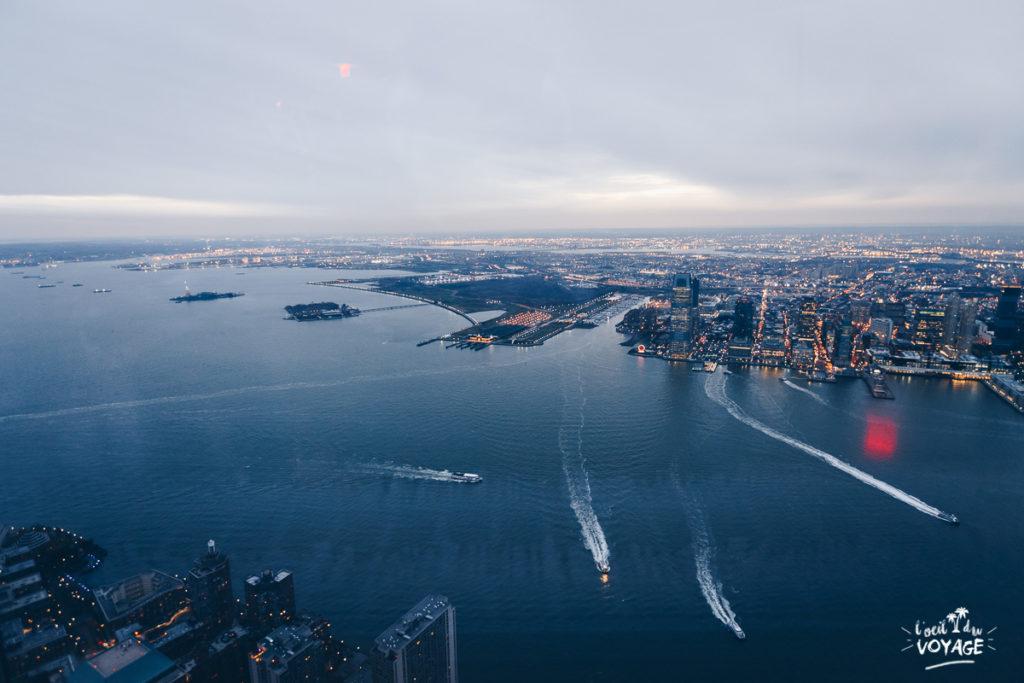 découvrir new york, one world observatory, new york en Français, blog voyage ny