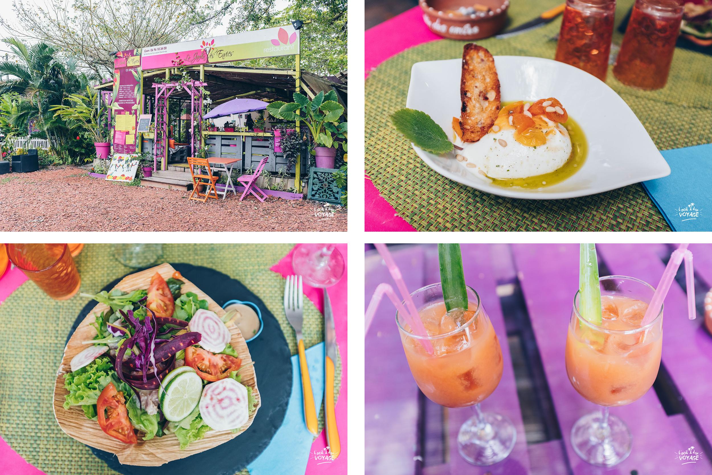 restaurant gastronomique martinique, le jardin des envies, village la poterie, par L'oeil du Voyage