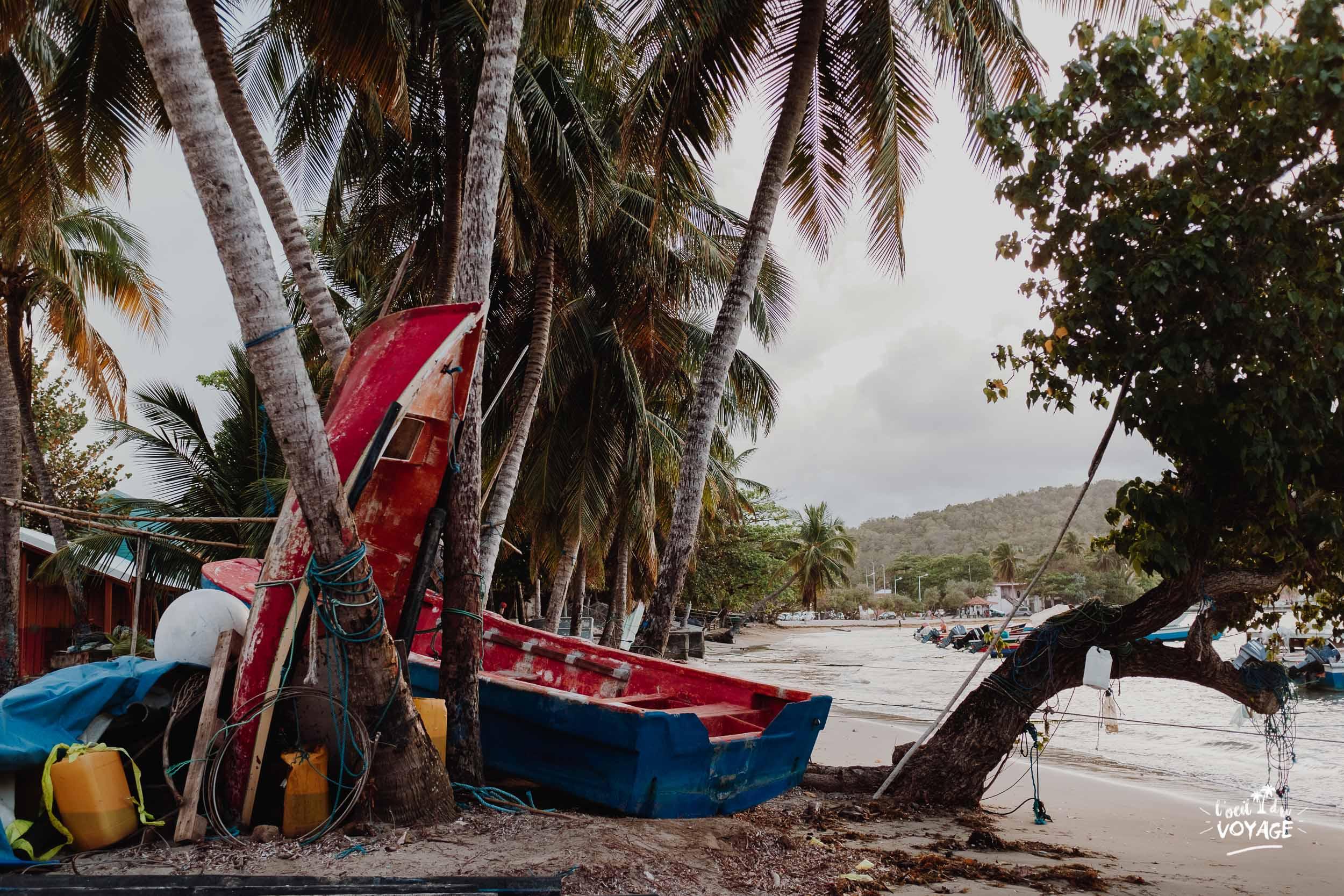 Tartane, village de pêcheur en Martinique. Meilleur blog voyage martinique.