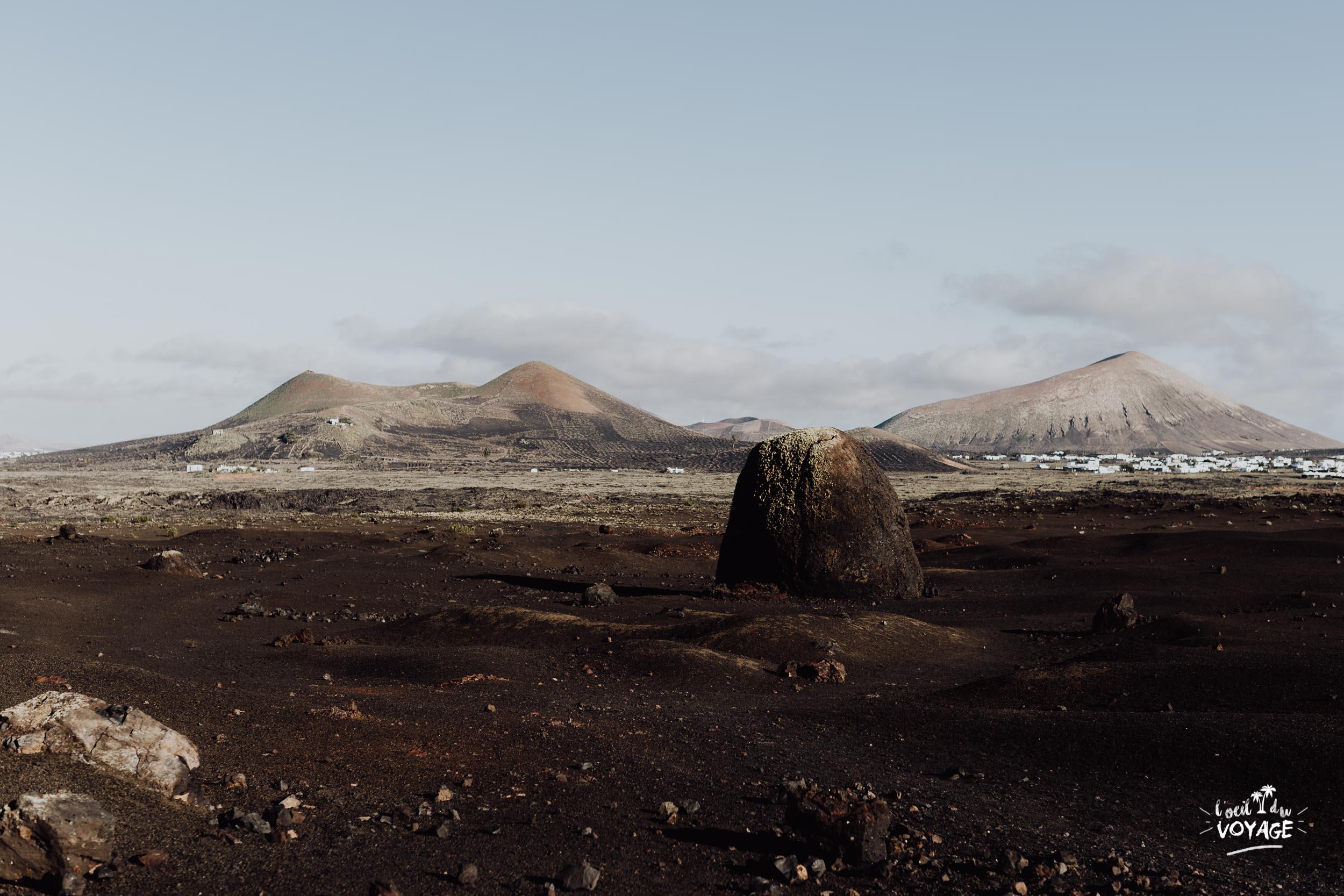 Lanzarote, le paradis des randonneurs. guide randonnée Lanzarote. Montana Colorada Lanzarote.