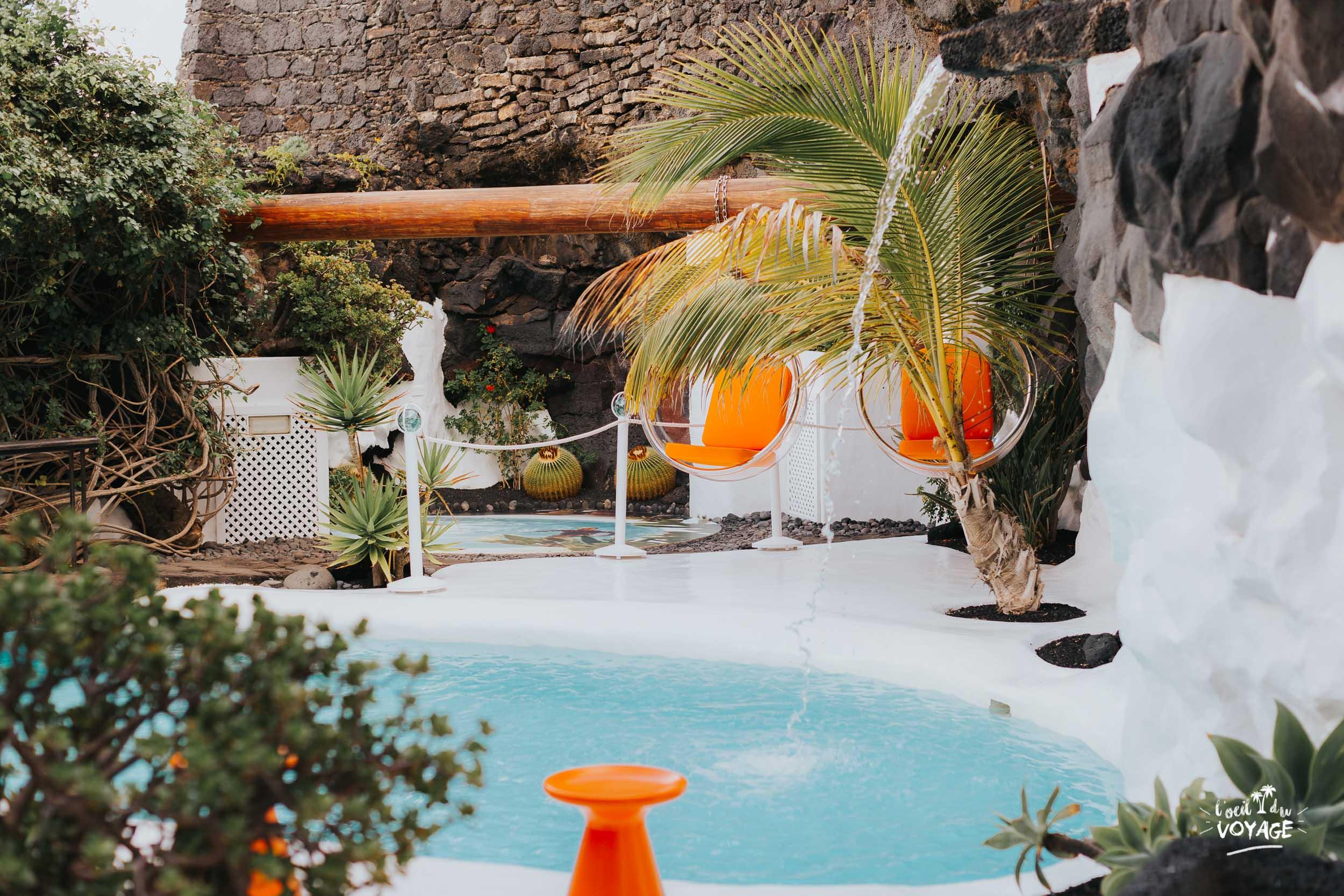 fondation César Manrique Lanzarote, visite incontournable Lanzarote, blog voyage lanzarote
