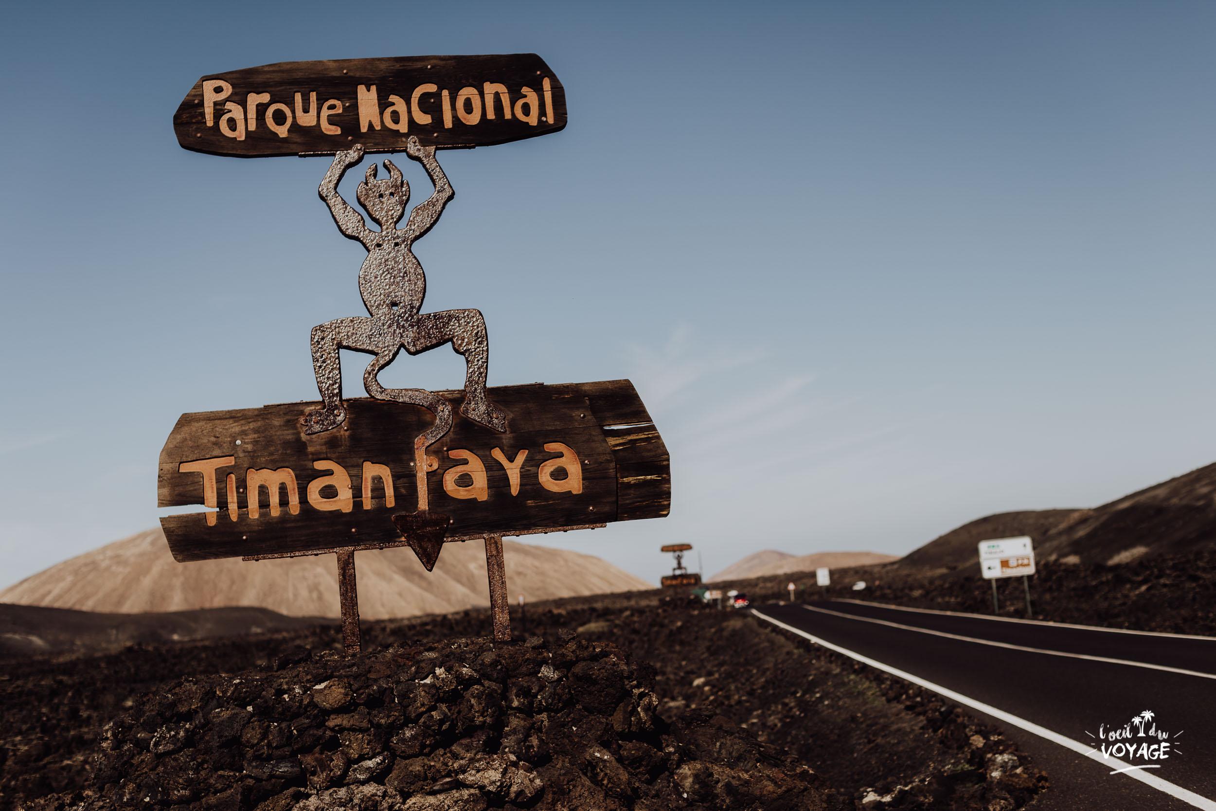 blog voyage lanzarote, parc national de Timanfaya, réserve naturelle lanzarote