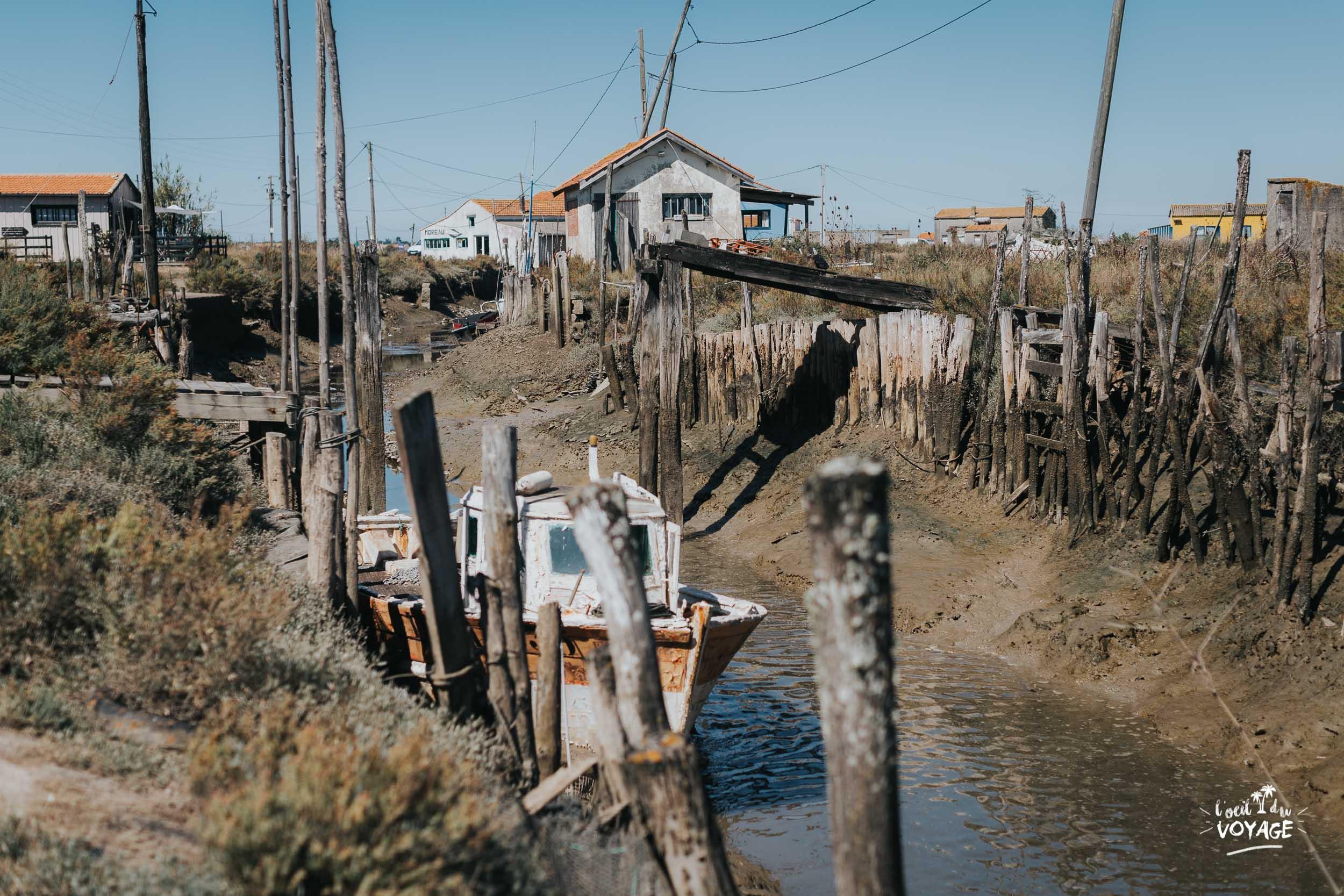Ville dport de pêche de la Baudissière. Que voir sur l'Île d'Oléron ? immanquable Oléron, marennes tourisme, par L'oeil du Voyage
