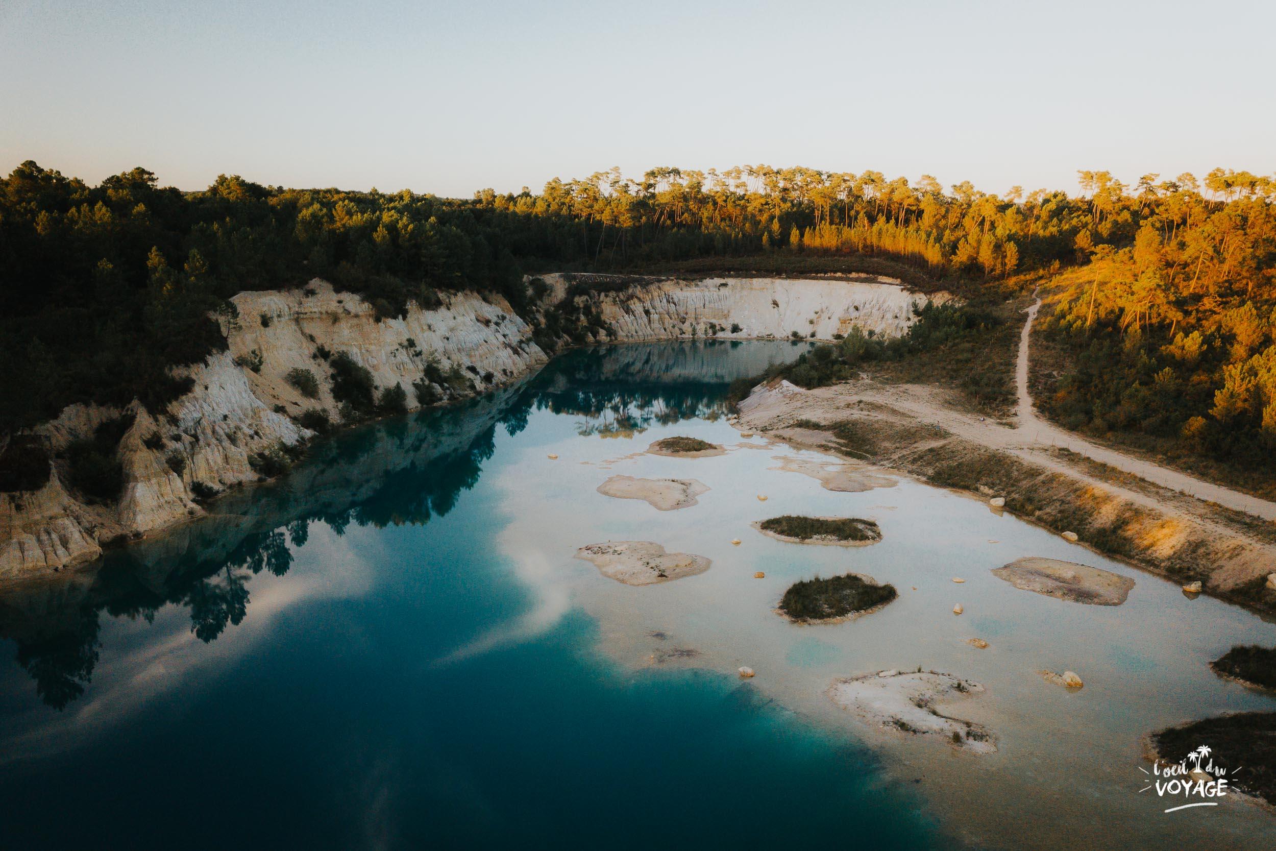 coup de coeur en sud charente : les lacs bleus de Guizengeard ! blog voyage France, L'oeil du voyage